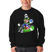 Sweat-shirts  parodique Luigi : Kart Fighter - Player 2 (Parodie )