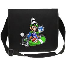 Sacs bandoulière Canvas  parodique Luigi : Kart Fighter - Player 2 (Parodie )