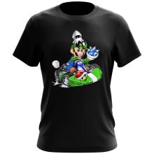 T-shirt  parodique Luigi : Kart Fighter - Player 2 (Parodie )