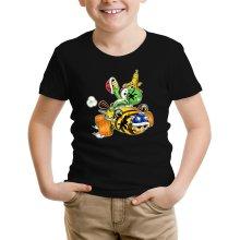T-shirts  parodique Yoshi : Kart Fighter - Player 3 (Parodie )