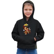 Sweat à capuche Enfant  parodique Donkey Kong : Kart Fighter - Player 4 (Parodie )