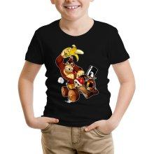 T-shirt Enfant  parodique Donkey Kong : Kart Fighter - Player 4 (Parodie )