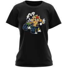T-shirts Femmes (French Days)  parodique Bowser : Kart Fighter - Player 5 (Parodie )