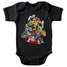 Body bébé  parodique Mario, Luigi, Yoshi et Bowser : Kart Fighter Racing (Parodie )