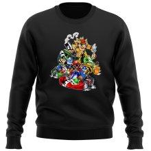 Pull  parodique Mario, Luigi, Yoshi et Bowser : Kart Fighter Racing (Parodie )