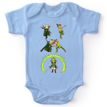 Bodys  parodique Link, Peter Pan et Legolas : La naissance du Chevalier parfait... FUSION ! YAHAAAA ! (Parodie )