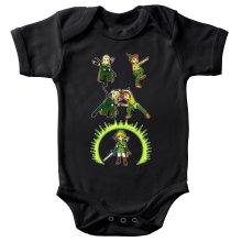 Body bébé  parodique Link, Peter Pan et Legolas : La naissance du Chevalier parfait... FUSION ! YAHAAAA ! (Parodie )