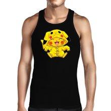 Funny  Tank Top - Pikachu ( Parody) (Ref:881)