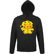 Sweats à capuche  parodique Pikachu : Le Cosplayer ultime !! (Parodie )
