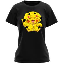 Funny  Women T-shirt - Pikachu ( Parody) (Ref:881)