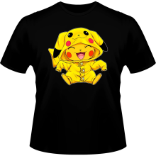 T-shirts  parodique Pikachu : Le Cosplayer ultime !! (Parodie )