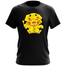 Funny  T-Shirt - Pikachu ( Parody) (Ref:881)