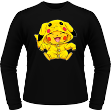 T-Shirts à manches longues (French Days)  parodique Pikachu : Le Cosplayer ultime !! (Parodie )