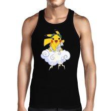 Débardeur  parodique Pikachu sauce Zeus, le Dieu du Tonnerre : Le Dieu du Tonerre :) (Parodie )