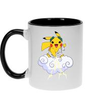 Mug  parodique Pikachu sauce Zeus, le Dieu du Tonnerre : Le Dieu du Tonerre :) (Parodie )