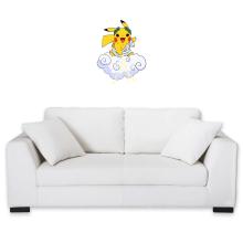 Sticker Mural  parodique Pikachu sauce Zeus, le Dieu du Tonnerre : Le Dieu du Tonerre :) (Parodie )