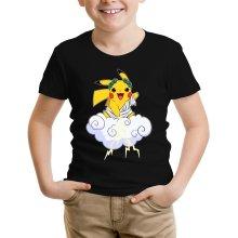 T-shirt Enfant  parodique Pikachu sauce Zeus, le Dieu du Tonnerre : Le Dieu du Tonerre :) (Parodie )