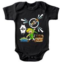 Body bébé  parodique Link et les Aliens : Le Grappin... !! (Parodie )