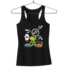 Débardeur Femme  parodique Link et les Aliens : Le Grappin... !! (Parodie )