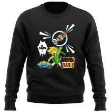 Pull  parodique Link et les Aliens : Le Grappin... !! (Parodie )