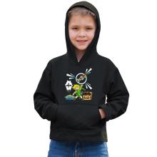 Sweat à capuche Enfant  parodique Link et les Aliens : Le Grappin... !! (Parodie )