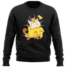 Pull  parodique Pikachu et Miaouss : Le jeu du Chat et la Souris :) (Parodie )