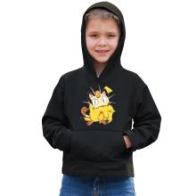 Sweat à capuche Enfant  parodique Pikachu et Miaouss : Le jeu du Chat et la Souris :) (Parodie )