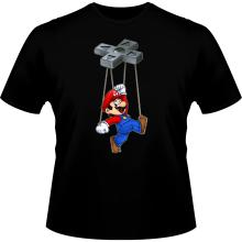 T-shirts  parodique Mario : Mario-nette ON (Parodie )