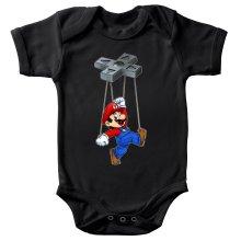 Body bébé  parodique Mario : Mario-nette ON (Parodie )