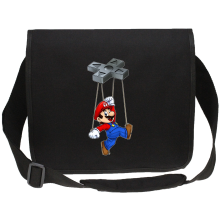 Funny  Canvas Messenger Bag - Mario ( Parody) (Ref:615)
