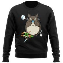 Pull  parodique Totoro et Link : Ni Vu ni connu... (Parodie )