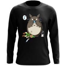 T-Shirt à manches longues  parodique Totoro et Link : Ni Vu ni connu... (Parodie )