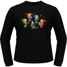 T-Shirts à manches longues  parodique Link : Orchestre symphonique en Solo :) (Parodie )