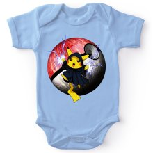 Body bébé  parodique Pikachu et Dark Sidious aka Palpatine : Palpa-chu :) (Parodie )
