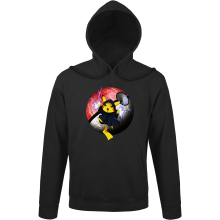 Sweat à capuche  parodique Pikachu et Dark Sidious aka Palpatine : Palpa-chu :) (Parodie )