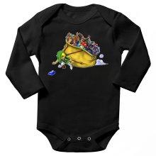 Body bébé manches longues  parodique Link : Paré pour l