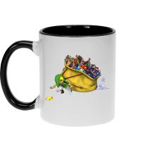 Mugs  parodique Link : Paré pour l
