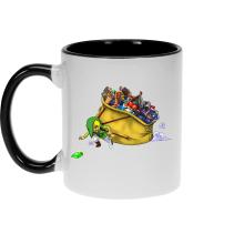 Mug  parodique Link : Paré pour l