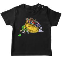 T-shirt bébé  parodique Link : Paré pour l