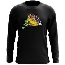 T-Shirt à manches longues  parodique Link : Paré pour l