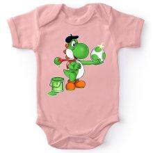 Funny Baby Bodysuit (Baby Girls) - Yoshi ( Parody)