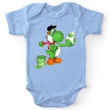 Funny Baby Bodysuit - Yoshi ( Parody)
