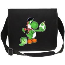 Funny Canvas Messenger Bag - Yoshi ( Parody)