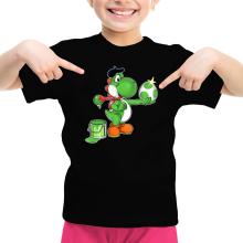 Funny Girls Kids T-shirt - Yoshi ( Parody)