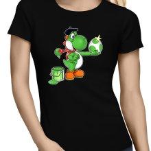 T-shirts Femmes  parodique Yoshi : Peinture fraîche... ;) (Parodie )