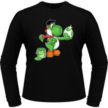 T-Shirts à manches longues  parodique Yoshi : Peinture fraîche... ;) (Parodie )