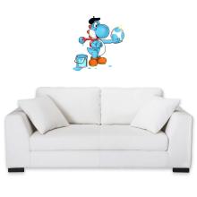 Décorations murales  parodique Yoshi bleu clair : Peinture fraîche... (Version bleue claire) (Parodie )