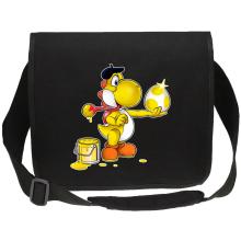 Sacs bandoulière  parodique Yoshi jaune : Peinture fraîche... (Version jaune) (Parodie )