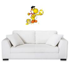 Décorations murales  parodique Yoshi jaune : Peinture fraîche... (Version jaune) (Parodie )