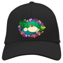Funny Cap - Snorlax, Chibi Misty and Totoro ( Parody)